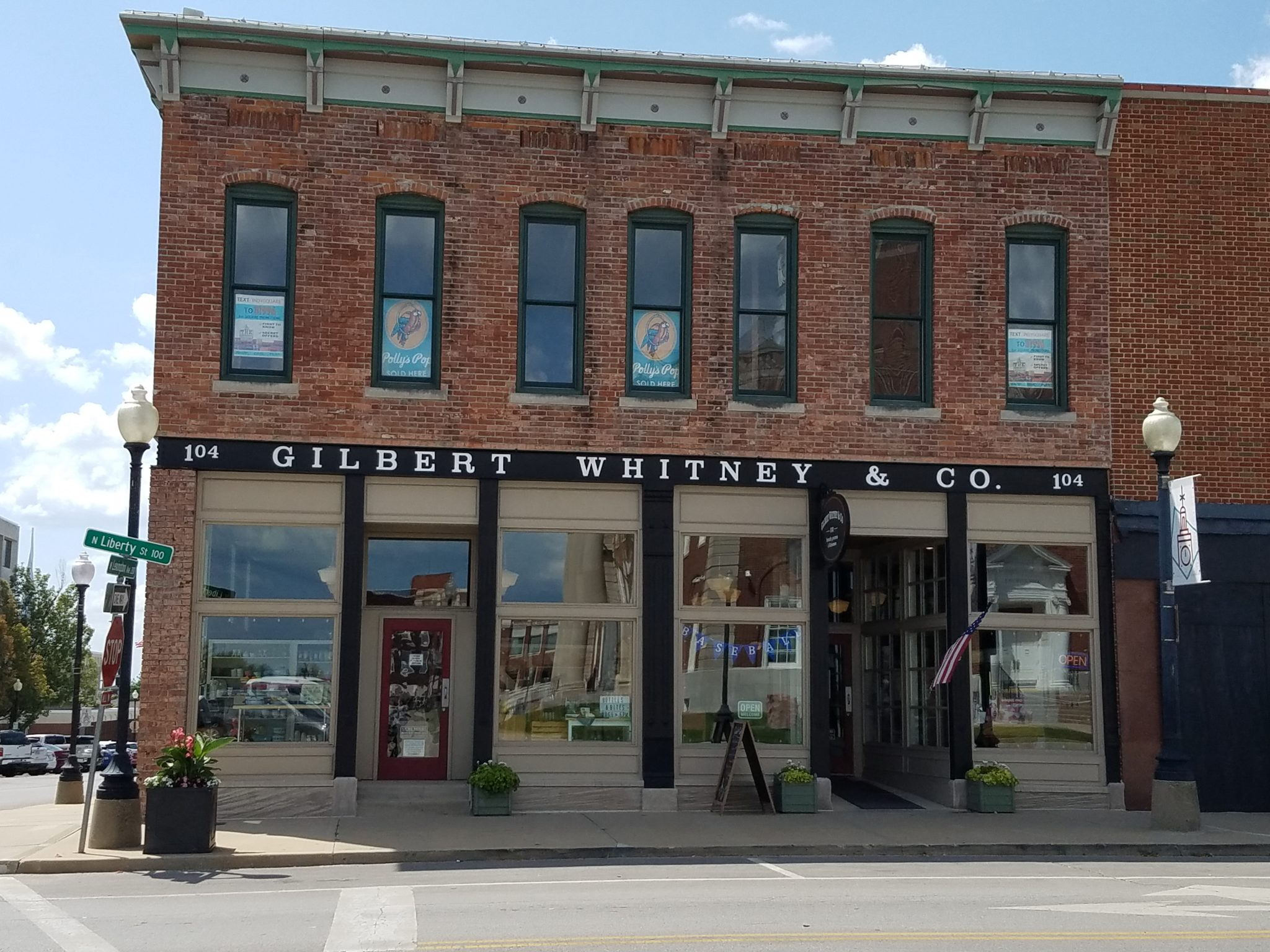 The Gilbert Whitney storefront in Independence, MO