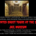 Ghost Tours at the 1859 Jail, Marshal's Home & Museum