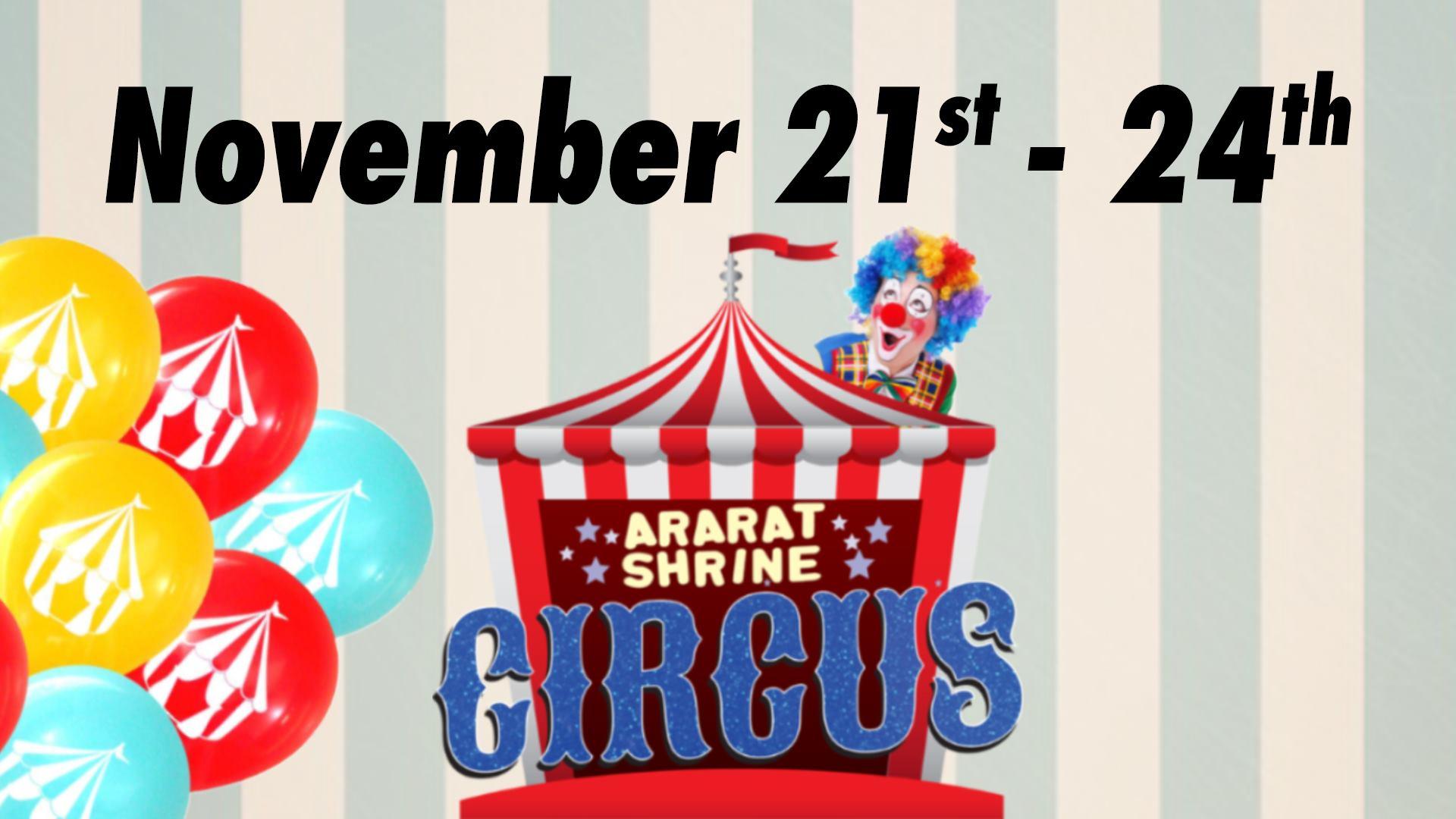 The 84th Annual Ararat Shrine Circus