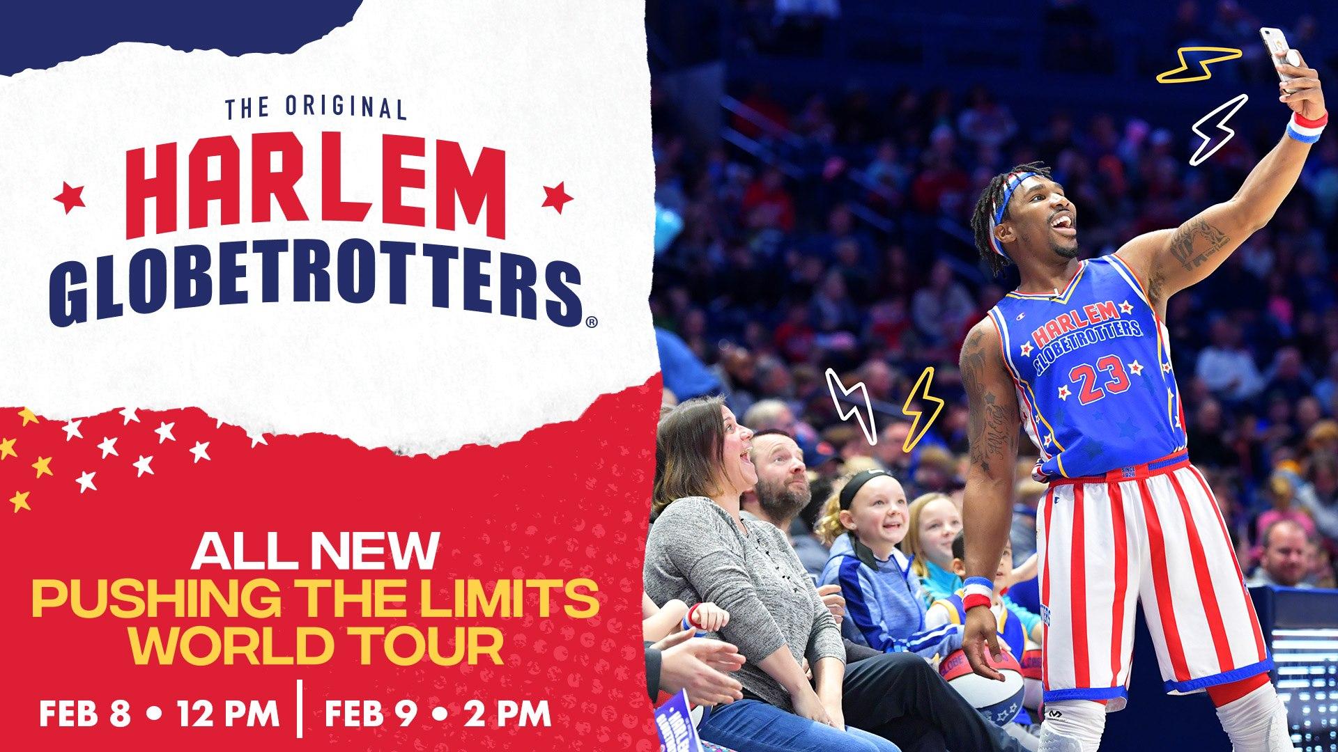 Harlem Globetrotters Pushing the Limits World Tour