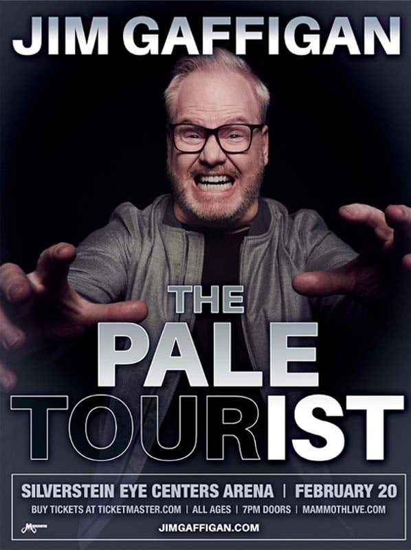 Jim Gaffingan The Pale Tourist Tour