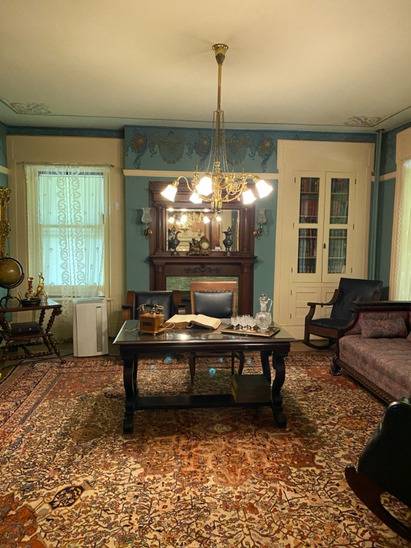 Interior of the Bingham-Waggoner Estate in Independence, MO