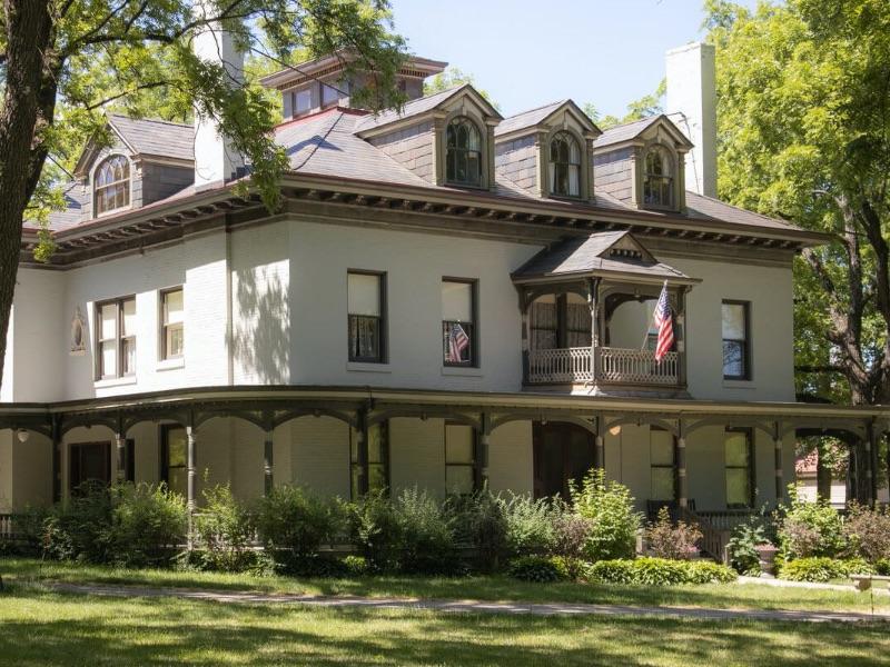 The Bingham-Waggoner estate in Independence, MO