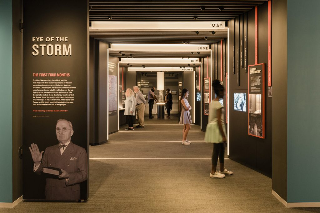 First Four Months Exhibit in the new Truman Library
