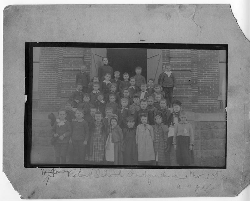 Truman's first-grade class